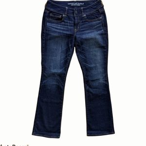 American Eagle kick boot stretch jeans size 8